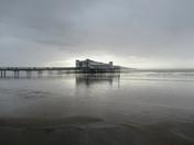 Weston seafront &  Birnbeck pier