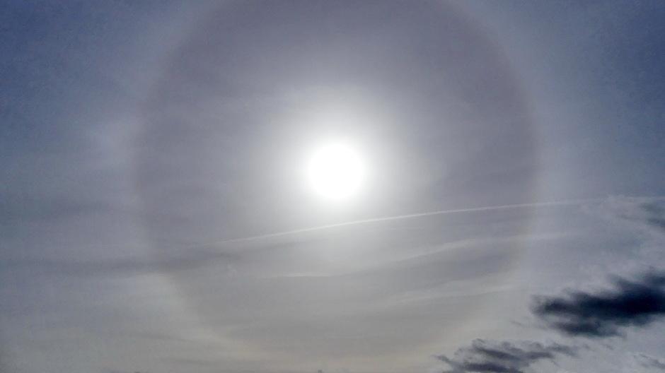 Kring om de zon ( Halo)