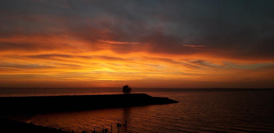 Prachtige voor zonsopkomst