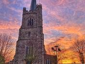 St Andrews Church Sunrise