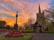 St Andrews Church Sunrise