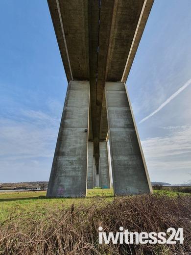 The Orwell bridge in all it's glory