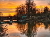 Beautiful start to the day on the River Waveney