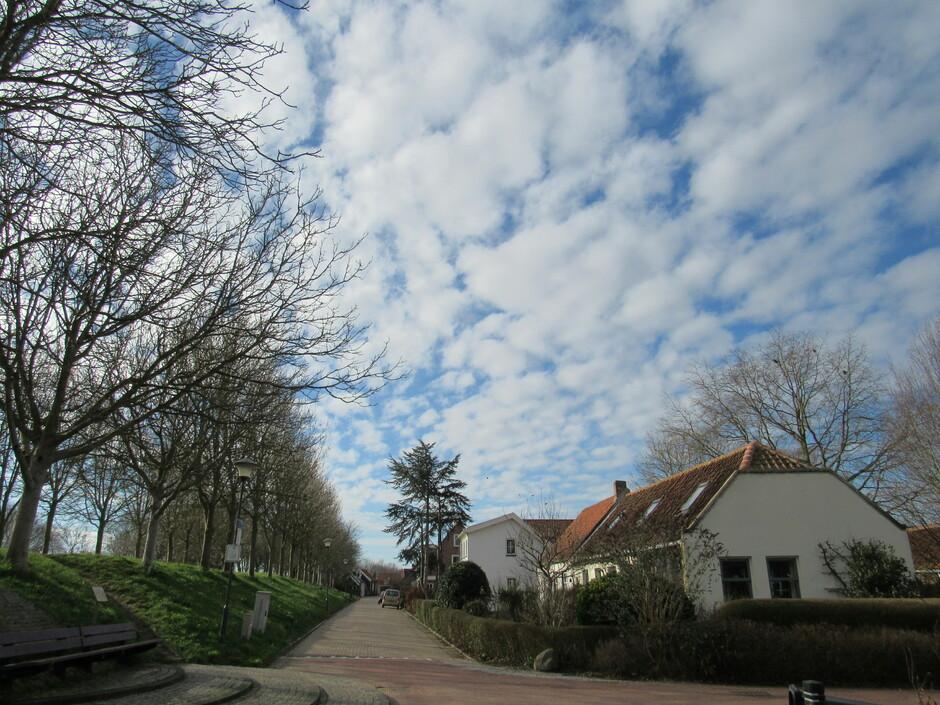 Prachtige wolkjes vandaag