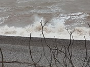 A blustery day in Budleigh