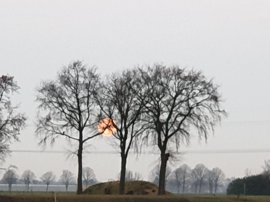 maansondergang