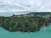 Drone Ilsham marine drive