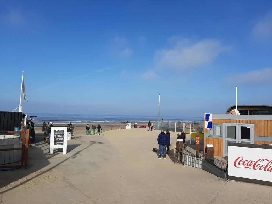 Strandopgang Bloemendaal aan zee