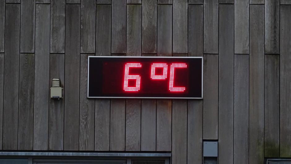 Grijs en frisjes 6 graden vanochtend