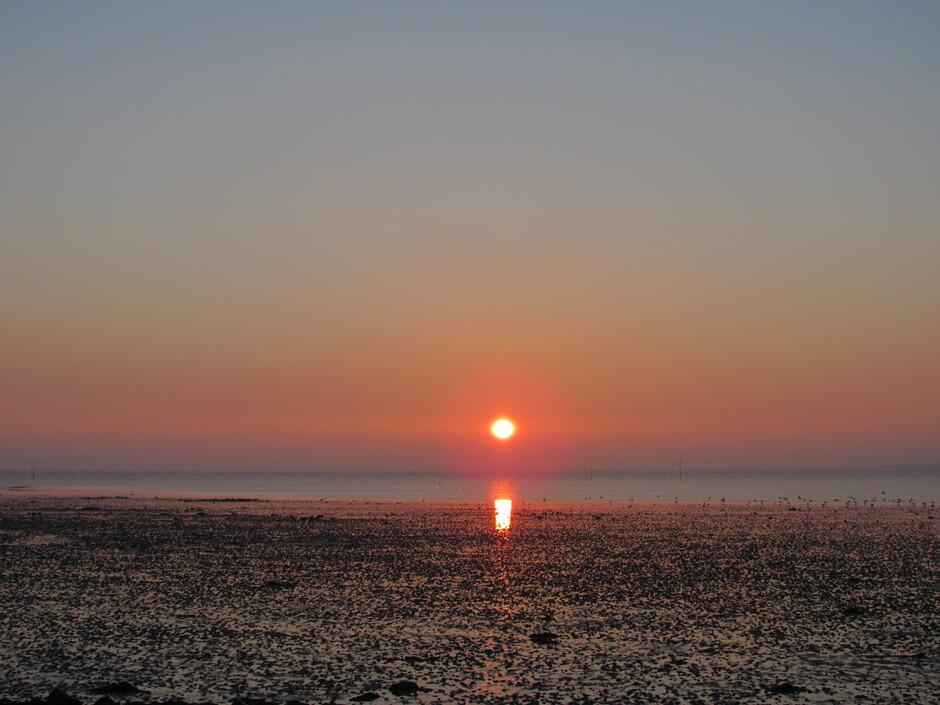 Mooie zonsopkomst vanmorgen