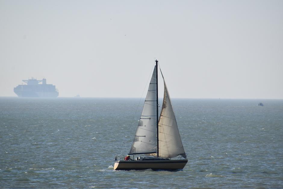 Rustig op zee