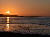 Sunset at Burnham overy staithe