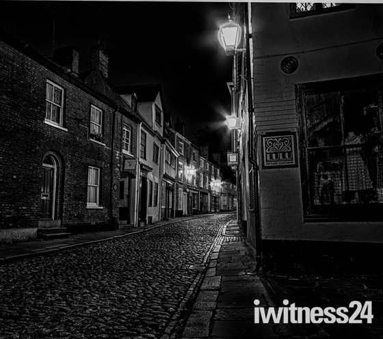 Project 52 Nightime at Elm Hill