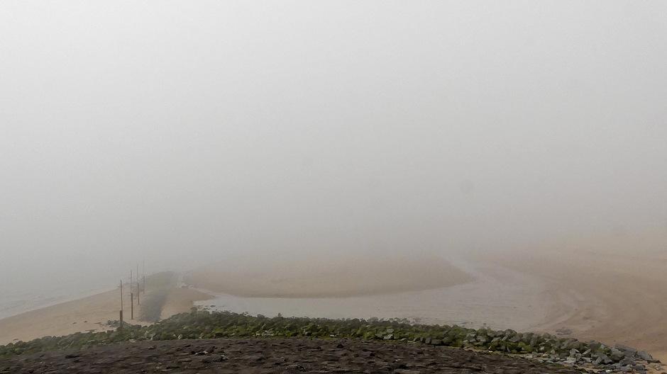 Snelopkomende dikke mist