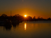 Sunset Oulton Broad
