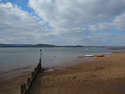 Starcross View from Exmouth on a sunny & cloudy afternoon, 6 March 2021