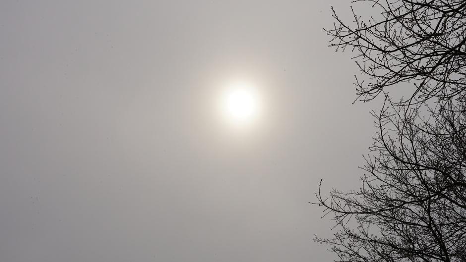 Waterig zonnetje