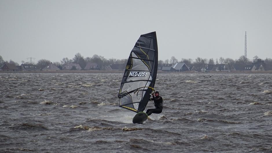 Heerlijk windsurfen