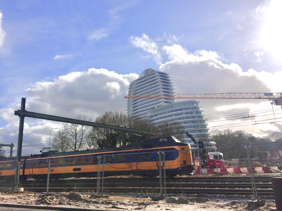 Zonnig en bewolkt bij project ring Groningen