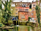 A view of Earsham Mill