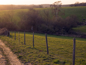 Stoke by Nayland just before sunset