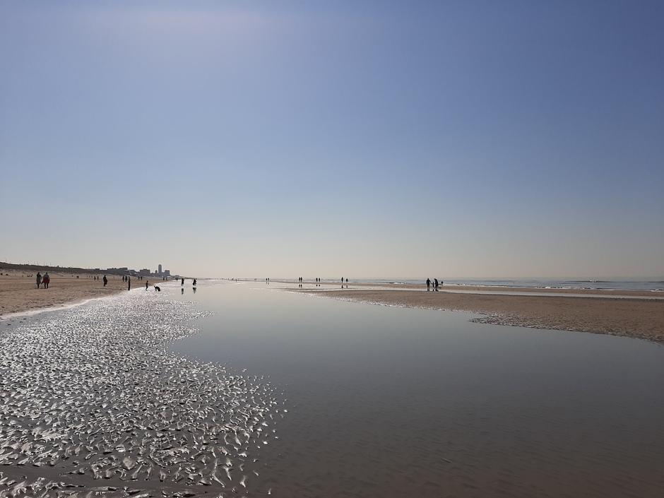Heerlijk op het strand!