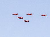 Red Arrows over Fakenham