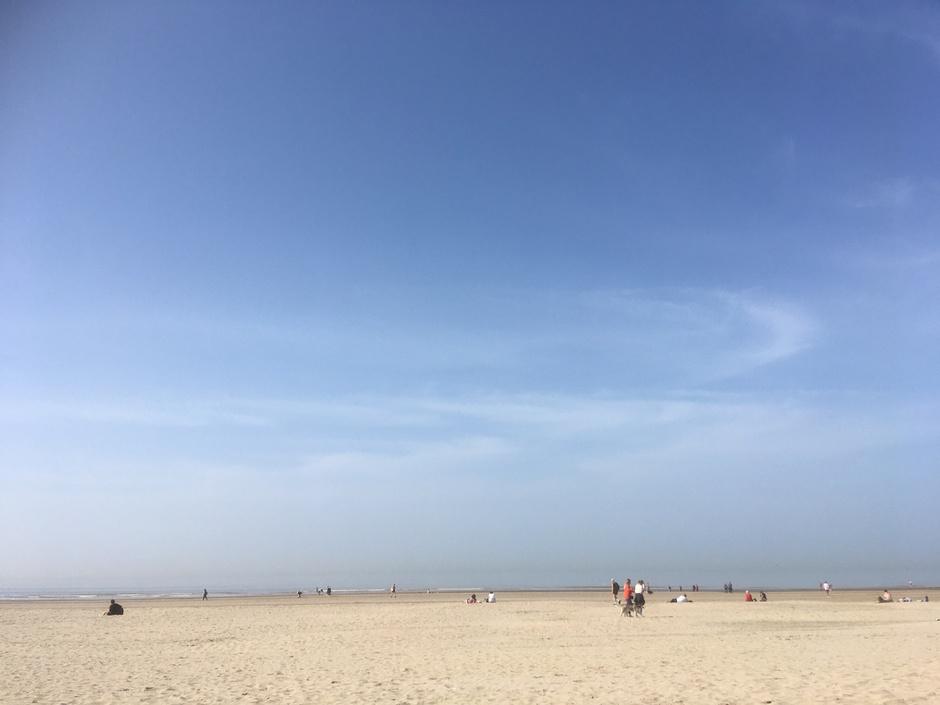 Genieten op het strand bij Bloemendaal