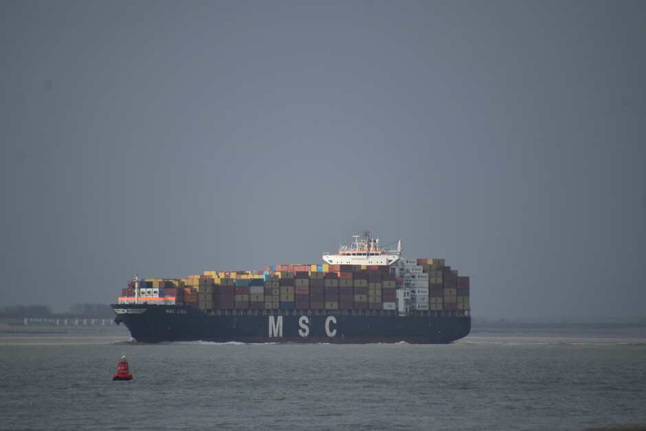 Zon op het schip