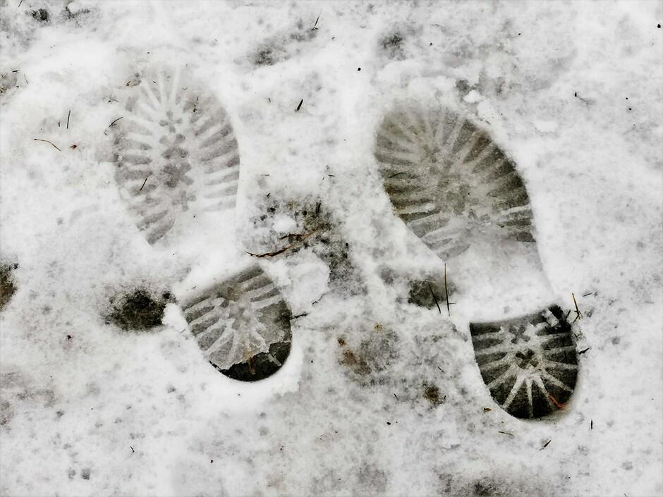 Sneeuw, natte sneeuw, winterse buien