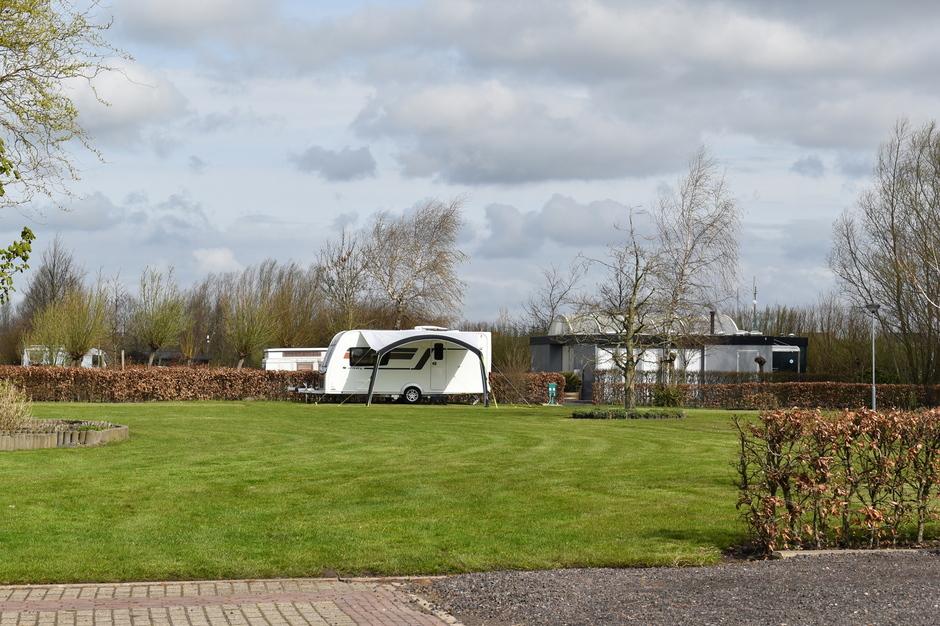 Fris op de camping