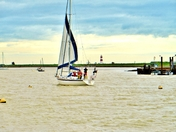 Sailing into Orford