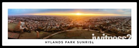 Hylands Park Sunrise