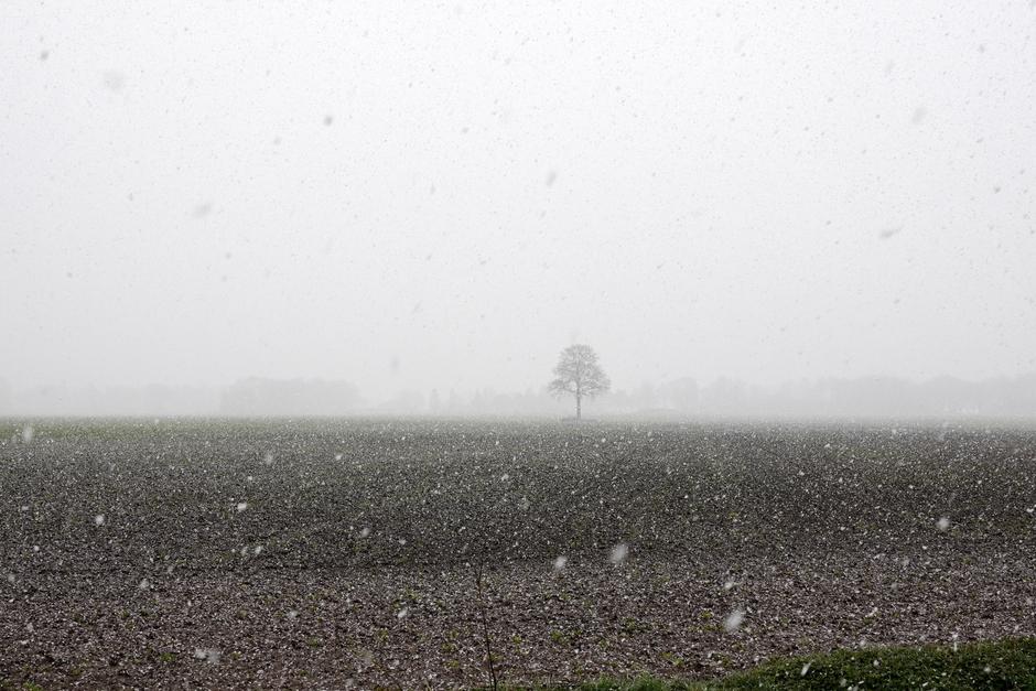matige sneeuw