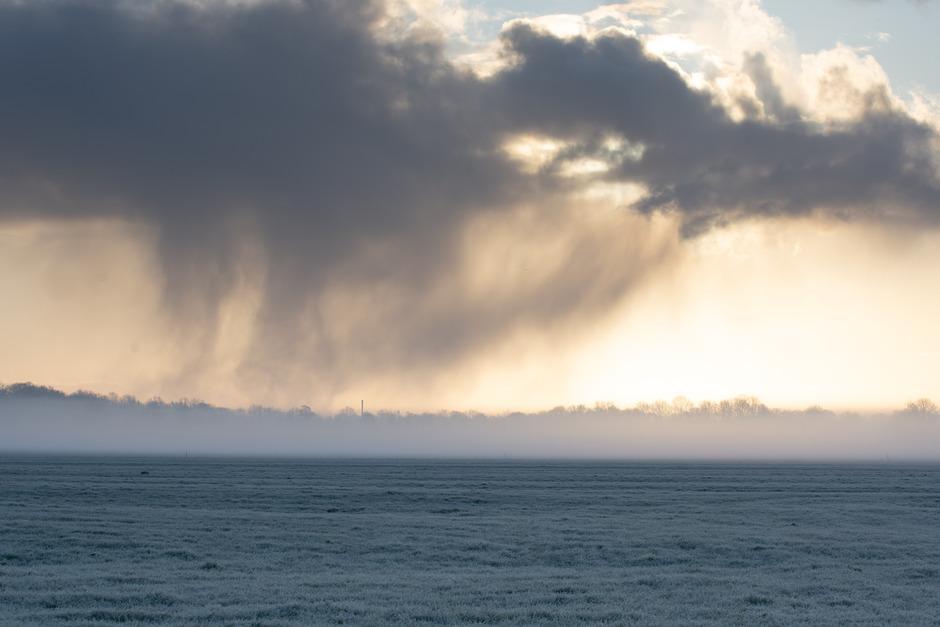 Mist en wolk.