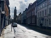 St Giles street in Norwich