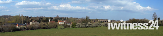 Chappel  near Colchester ,Panorama