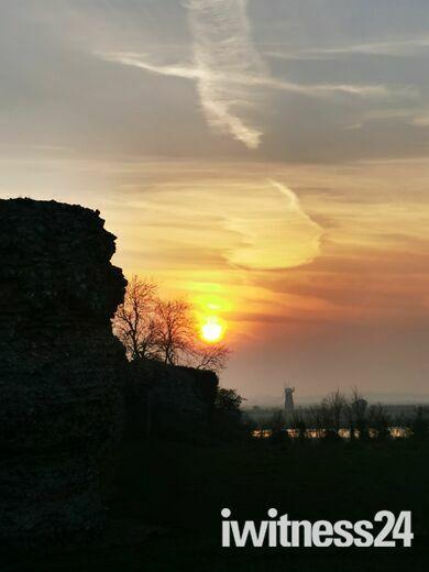 Sunset over Breydon