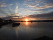 Wells sunset