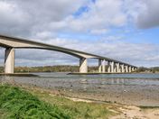 Orwell Bridge from Wherstead