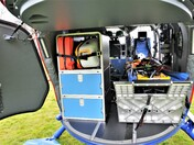 Devon Air Ambulance's patient entrance and accommodation