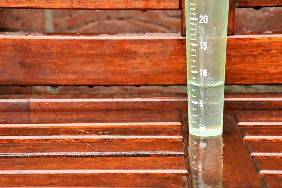 Neerslag, Regen, Regenmeter