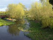 Evening light, Stour at Nayland