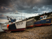 Boats of Beer Beach.