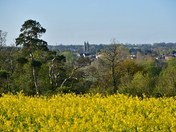 Bungay from Bath Hills in Ditchingham