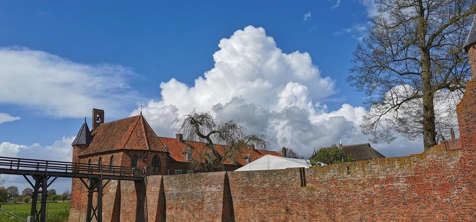 Mooie cumulus vanmiddag