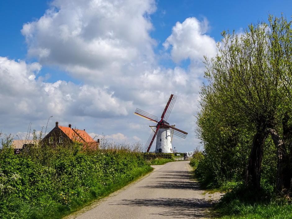 Mooie Hollandse wolkenlucht