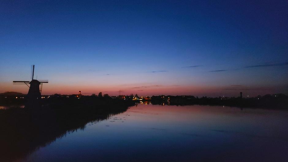Na zonsondergang