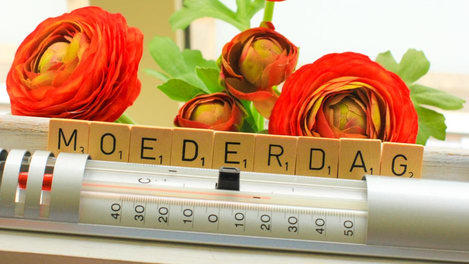 Morgen een warme Moederdag!