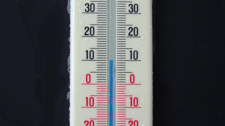 10 graden vanmiddag in de regen